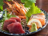 高知の漁港より旬の鮮魚を直送『刺身盛り合わせ』