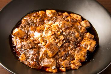 3種の豆瓣醤の旨みが豊か。看板メニューの四川系『東京麻婆豆腐』