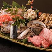 春夏秋冬の海・山・川の幸を堪能する正統派の割烹料理