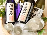 松崎氏は料理だけでなく日本酒にも精通しているため、料理に合う美酒を提案してくれます。好みの酒をリクエストするもよし、料理との相性でゆだねるのもよし。タイミングにより、希少な隠し酒もあるそうです。