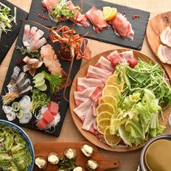 SNSで話題の肉寿司と贅沢しゃぶしゃぶが楽しめる特選コースです!コスパ抜群の人気宴会コースです♪