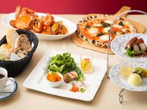 ランチ限定。気軽なイタリア料理のコース『Aランチコース』