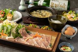 忘年会に!北の旬魚と旬のお野菜、お肉をふんだんに使用した《北の香り!若鶏と鴨のセリ鍋コース》です。