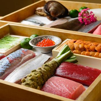 お寿司メインの肴と寿司コース  7000円