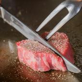 とろける食感と甘み、極上肉にうなる『神戸牛ステーキ』