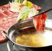 贅沢な逸品♪ヘルシーで食感が良い新鮮な牛とろ~りチーズのトマト鍋タンをしゃぶしゃぶして贅沢にどうぞ♪