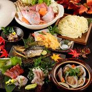 【季節限定プラン】最大3h飲み放題付豪華和食料理8品5000円