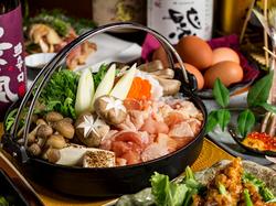 名古屋コーチン&地鶏料理10品の最大3時間飲み放題付コース