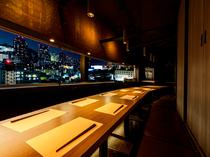 ファンタスティックな気分になれる夜景個室