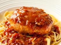 ジュワッとあふれる肉汁に笑みがこぼれる『ハンバーグ』