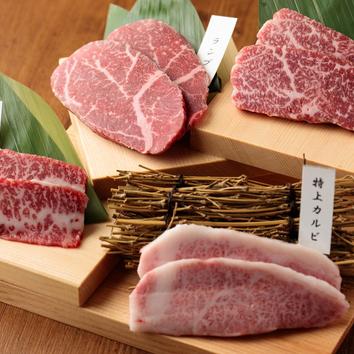 ◇最高級特選黒毛和牛を心ゆくまで堪能!満腹満足コース 8000円