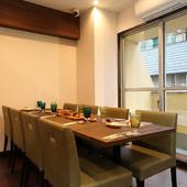 4~30名様の個室空間も可能。会食やプチパーティーにぜひ!