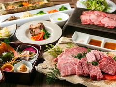 欒の美味しいお肉を堪能できるお得なコースです。