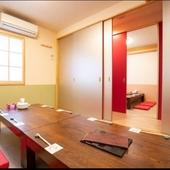 【接待向き個室】少人数でお使いいただける個室です。