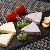 チーズ3種盛
