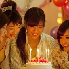 誕生日会や歓送迎会におすすめ!『特製ホールケーキ』が付いたお祝いにぴったりのアニバーサリープラン♪