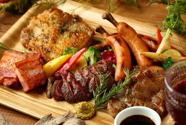 肉5種盛り合わせ