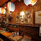 沖縄テイストたっぷりの創作居酒屋