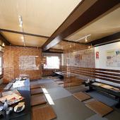 2階は貸し切り宴会も可能な座敷席
