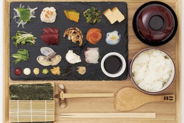 自分でつくる手巻きセット『手織り寿司』