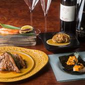 大人の鉄板焼デートや記念日ディナーに、最高の美味と時間を約束