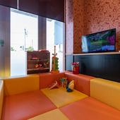 「子どもが楽しめるお店づくり」。ファミリー利用に活躍する一軒