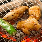 ふぐの新しい美味しさを発見できる、香ばしい『炭火焼ふぐ』