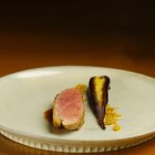 『ある日の肉料理』 ~仏シャラン産鴨胸肉のロティ~