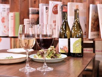 やさしい料理と自然派ワインで、リラックスした時間を