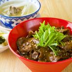 テールスープ・お新香・温玉付!!