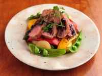 高級食材と季節野菜を味わう『フランス産シャラン鴨のグリル』