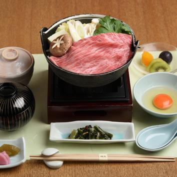 神戸牛すき鍋膳〈昼〉