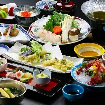 ふぐと京野菜の冬懐石