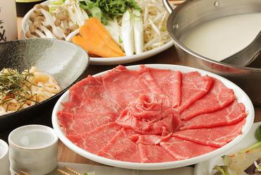 好みで選べる『厳選肉のしゃぶしゃぶ食べ放題コース<2時間食べ放題付>』