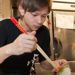 美味しい料理と細やかな心遣いが生み出す、快適な空間