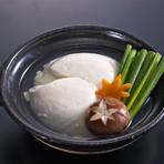 温泉ざる豆腐小鍋