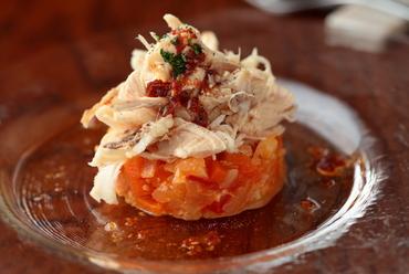 初めて出会う美味しさ! 『ウサギのお肉のピエモンテ風サラダ』