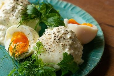 キタアカリと美卵のポテトサラダ