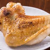 奈良県産大和肉鶏の大手羽