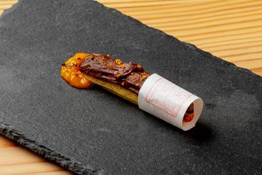 奈良の和の伝統と洋食が融合した、創造性あふれる和魂洋才『フォアグラ 奈良漬』