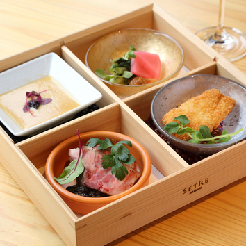 シェフおすすめ期間限定ランチ/季節の奈良食材のマリアージュ