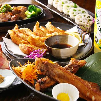 和牛炙りも♪旬を贅沢に愉しむ…飲放付コース4500円(11品)