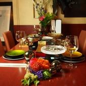 2H飲み放題が付いた嬉しいコース。しゃぶしゃぶや肉ちらし寿司などと共に美味しいお酒をご堪能ください。