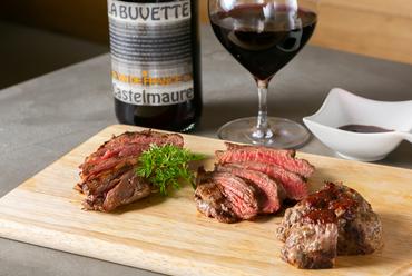 肉もガッツリ食べたい人に! 3月22日からの新メニュー『ステーキ3種盛り』