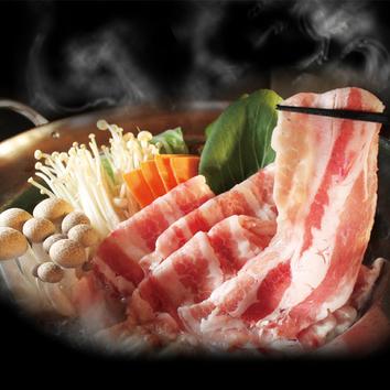 <ディナー>豚しゃぶ×ビュッフェ食べ放題コース2084円(税抜)
