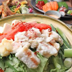 【プレミアム飲み放題付き】鮮魚と馬肉の盛り合わせ、バックリブステーキ、全7種類から選べるメイン付き!