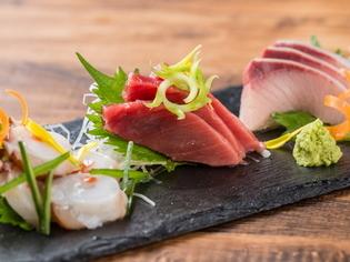 美味の競演を演出してくれる厳選肉と厳選魚