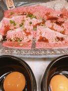 さくらちゃん玉子との相性バッチリ! 玉子トッピング +100円 最後に残った玉子を追い飯にかければ、お肉の出汁が出た究極の玉子かけご飯になります。