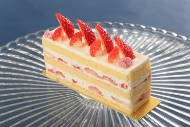 口当たりの良さを追求した『苺のショートケーキ』(テイクアウト)