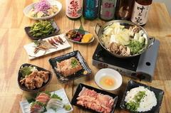 新鮮な素材の味を活かした日本酒人名物の料理がご堪能できるプランです!